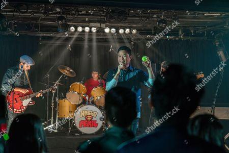 Karan Soni as Tony, Charlyne Yi as Ginger and Randall Park as Marcus Kim