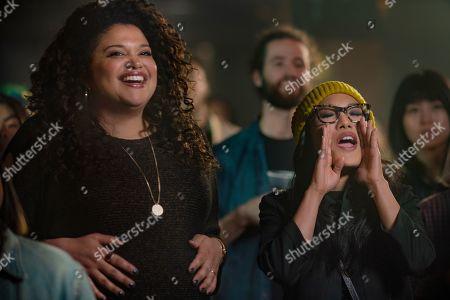 Michelle Buteau as Veronica and Ali Wong as Sasha Tran