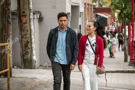 Randall Park as Marcus Kim and Ali Wong as Sasha Tran