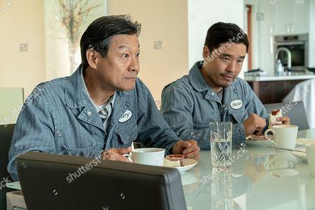 James Saito as Harry and Randall Park as Marcus Kim