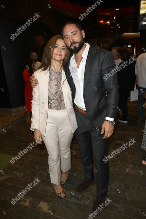 Matias Varela with his mother Carmen Varela