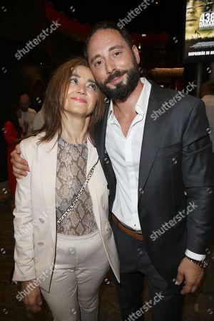 Matias Varela with is mother Carmen Varela