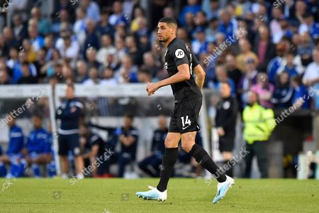 Stock Picture of Leon Balogun (14) of Brighton and Hove Albion during the EFL Cup match between Bristol Rovers and Brighton and Hove Albion at the Memorial Stadium, Bristol