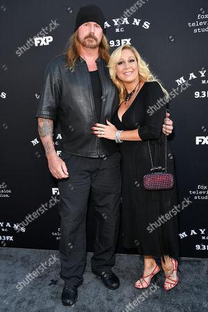 Stock Photo of Rusty Coones and Katherine Coones