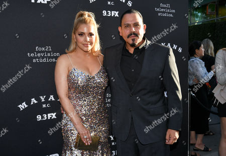 Stock Image of Yadi Valerio and Emilio Rivera