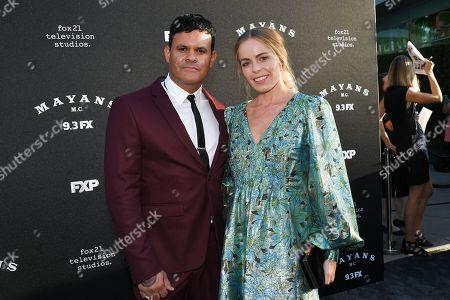 Editorial photo of 'Mayans M.C.' TV show Season 2 premiere, Arrivals, Pacific Cinerama Dome, Los Angeles, USA - 27 Aug 2019