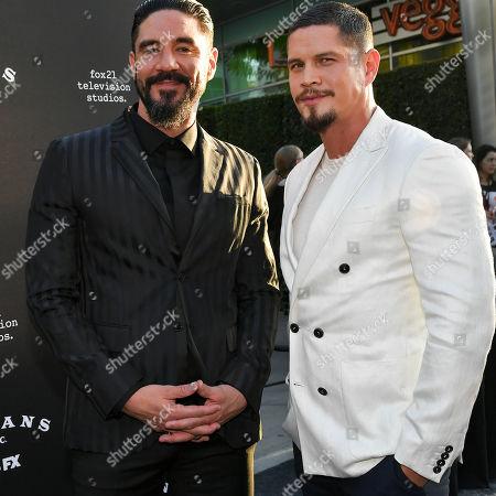 Clayton Cardenas and J. D. Pardo