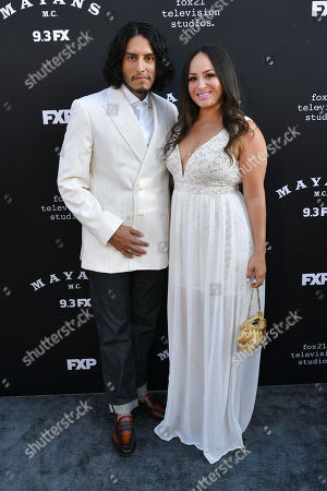 Stock Photo of Richard Cabral and Janiece Sarduy