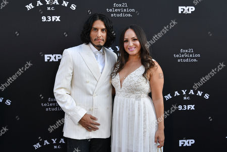 Richard Cabral and Janiece Sarduy