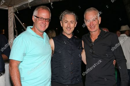 Patrick McEnroe, Alan Cumming and John McEnroe