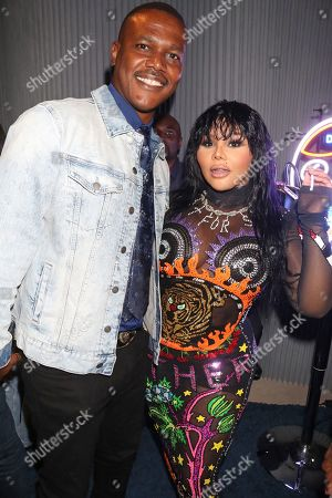 Stock Picture of Kevin Lyttle and Lil Kim