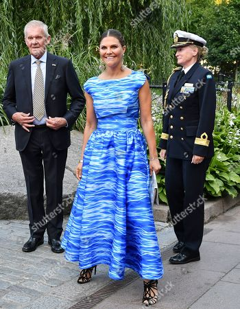 Crown Princess Victoria attends the Junior Water Prize ceremony, Stockholm