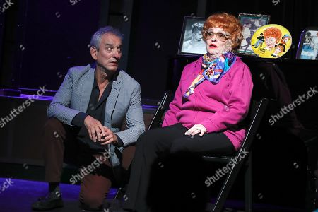 Lee Tannen, Playwright and co-star and Sandra Dickinson, as Lucille Ball