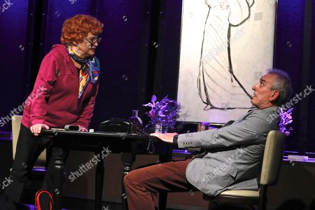 Sandra Dickinson, as Lucille Ball and Lee Tannen, Playwright and co-star