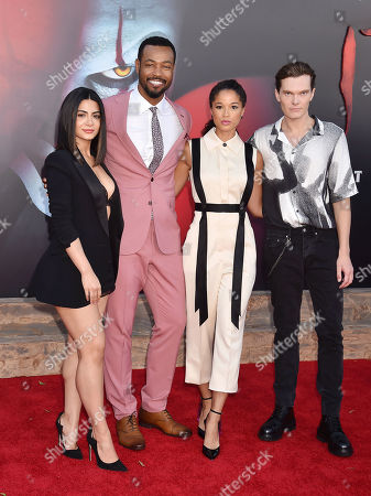 Emeraude Toubia, Isaiah Mustafa and Alisha Wainwright