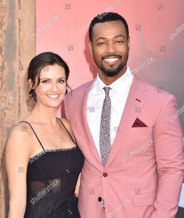 Lisa Mitchell and Isaiah Mustafa
