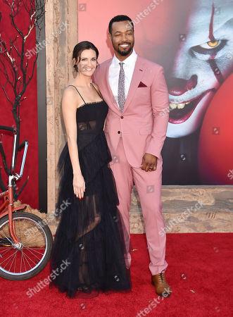 Lisa Mitchell and Isaiah Mustafa