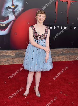 Editorial image of 'It Chapter Two' film premiere, Arrivals, Regency Village Theatre, Los Angeles, USA - 26 Aug 2019