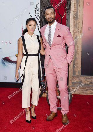 Alisha Wainwright and Isaiah Mustafa