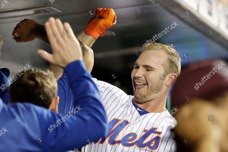 Editorial photo of Cubs Mets Baseball, New York, USA - 27 Aug 2019