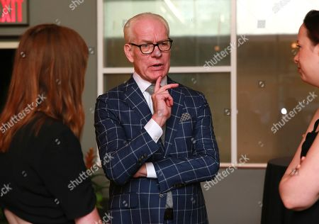 Tim Gunn attends the Amazon Prime Video 'Making the Cut' mixer at Cachet Boutique Hotel in New York