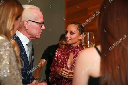 Tim Gunn and Nicole Richie attend the Amazon Prime Video 'Making the Cut' mixer at Cachet Boutique Hotel in New York