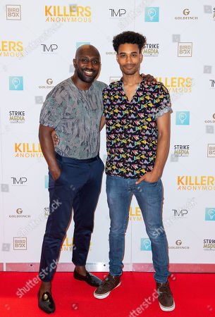 Editorial image of 'Killers Anonymous' film premiere, Everyman Cinema, Kings Cross, London, UK - 27 Aug 2019