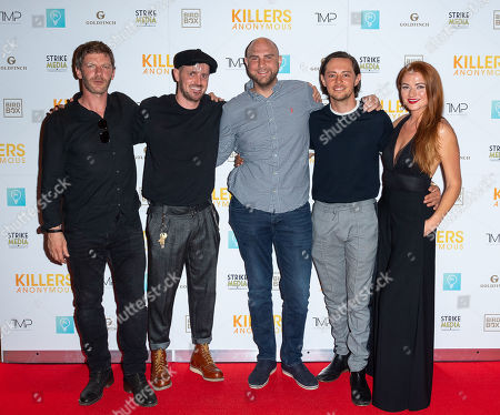 Editorial picture of 'Killers Anonymous' film premiere, Everyman Cinema, Kings Cross, London, UK - 27 Aug 2019