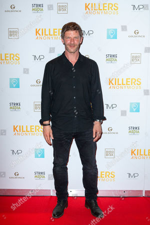 Editorial photo of 'Killers Anonymous' film premiere, Everyman Cinema, Kings Cross, London, UK - 27 Aug 2019