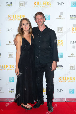 Editorial image of 'Killers Anonymous' film premiere, Everyman Cinema, Kings Cross, London, UK - 27 Aug 2019