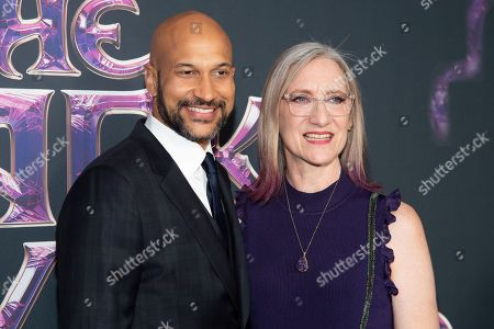Keegan-Michael Key and Lisa Henson