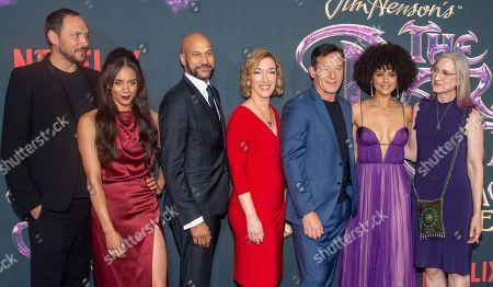 Stock Picture of Louis Leterrier, Hannah John-Kamen, Keegan-Michael Key, Donna Kimball, Jason Isaacs, Nathalie Emmanuel and Lisa Henson