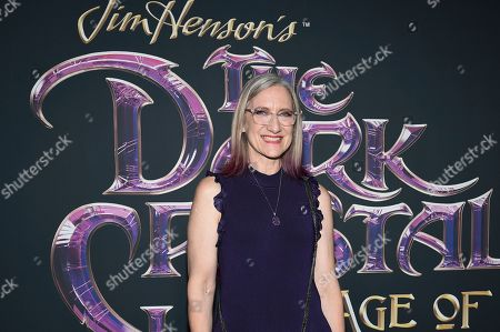 "Stock Image of Executive producer and CEO of The Jim Henson Company Lisa Henson attends the premiere of Netflix's ""Dark Crystal: Age of Resistance"" at the Museum of the Moving Image, in New York"