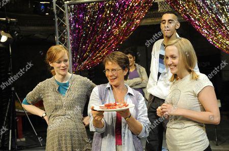 Kathryn O'Reilly ( Bella ) Celia Imrie ( Trish ) Lorna Stuart ( Tamsin ) Muzz Khan ( Uday )