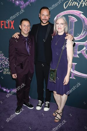 Editorial image of 'The Dark Crystal: Age Of Resistance' film premiere, Museum of the Moving Image, New York, USA - 27 Aug 2019
