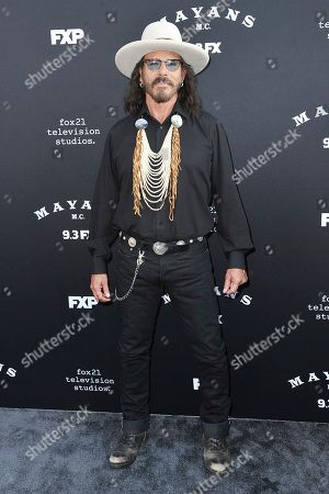 "Editorial image of LA Premiere of ""Mayans M.C."" Season Two, Los Angeles, USA - 27 Aug 2019"