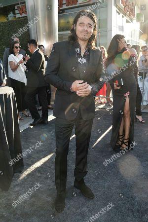"Antonio Jaramillo attends the LA premiere of ""Mayans M.C."" Season Two at ArcLight Cinemas - Hollywood, in Los Angeles"