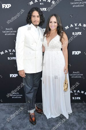 """Richard Cabral attends the LA premiere of """"Mayans M.C."""" Season Two at ArcLight Cinemas - Hollywood, in Los Angeles"""