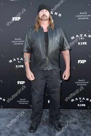 """Rusty Coones attends the LA premiere of """"Mayans M.C."""" Season Two at ArcLight Cinemas - Hollywood, in Los Angeles"""