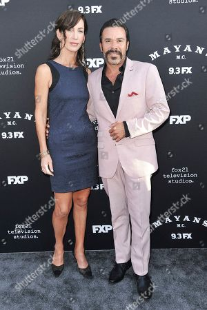 """Michael Irby attends the LA premiere of """"Mayans M.C."""" Season Two at ArcLight Cinemas - Hollywood, in Los Angeles"""