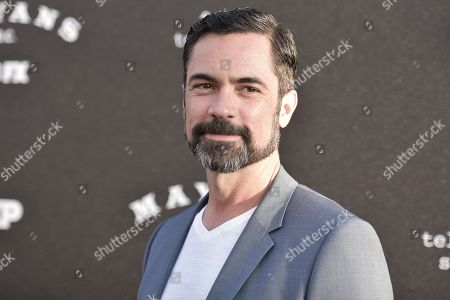 "Danny Pino attends the LA premiere of ""Mayans M.C."" Season Two at ArcLight Cinemas - Hollywood, in Los Angeles"