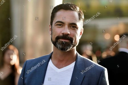 "Danny Pino attends the LA premiere of ""Mayans M.C."" Season 2 at ArcLight Cinemas - Hollywood, in Los Angeles"