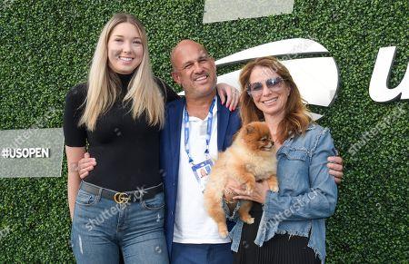 Stock Photo of Allyson Shapiro, Gary Brody and Jill Zarin