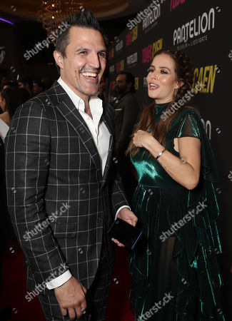 Billy Rovzar and Claudia Alvarez