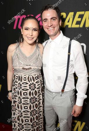 Miri Higareda and Santiago Michel