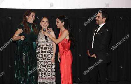 Claudia Alvarez, Miri Higareda, Martha Hidgareda and Omar Chaparro