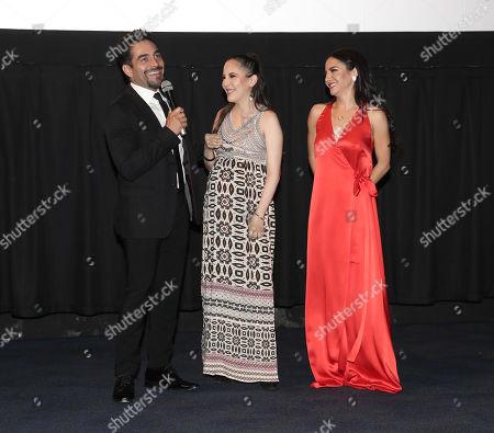 Omar Chaparro, Miri Higareda and Martha Hidgareda