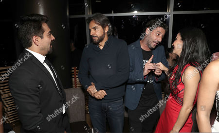Omar Chaparro, Eugenio Derbez, Director Ariel Winograd, Martha Higareda