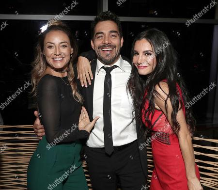 Marimar Vega, Omar Chaparro and Martha Higareda