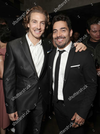 Eugenio Siller and Omar Chaparro